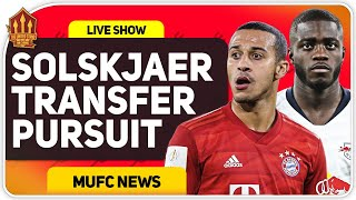 Thiago AND Upamecano AFTER Van De Beek Official? Man Utd Transfer News
