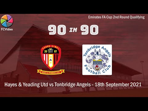 Hayes Tonbridge Goals And Highlights