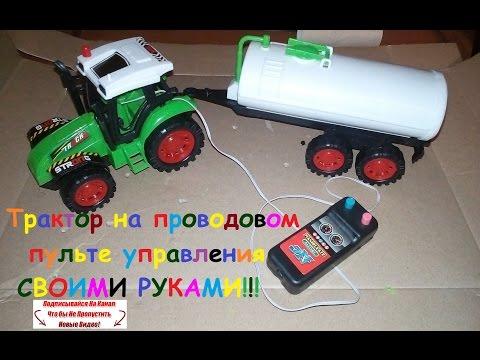 Трактор на камерах своими руками