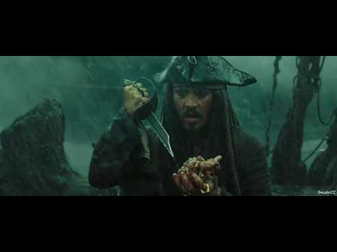 Pirates Of The Caribbean: At World's End - Davy Jones' Death [FULL HD]