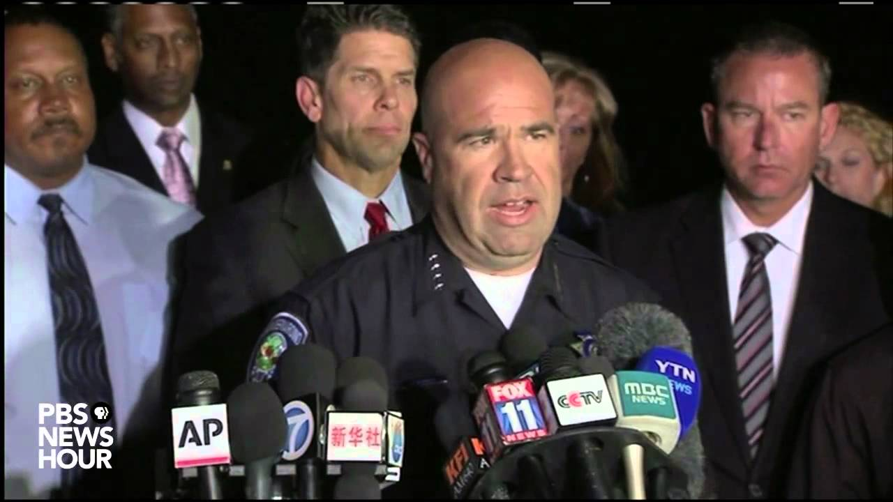 14 dead in San Bernardino shooting