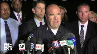 San Bernardino Police Chief: Two suspects dead, one man, one woman