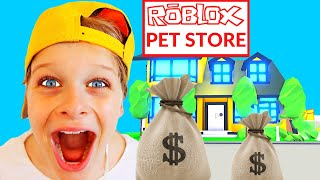 Who can build the BEST BUSINESS STORE IN ROBLOX Gaming w/ The Norris Nuts