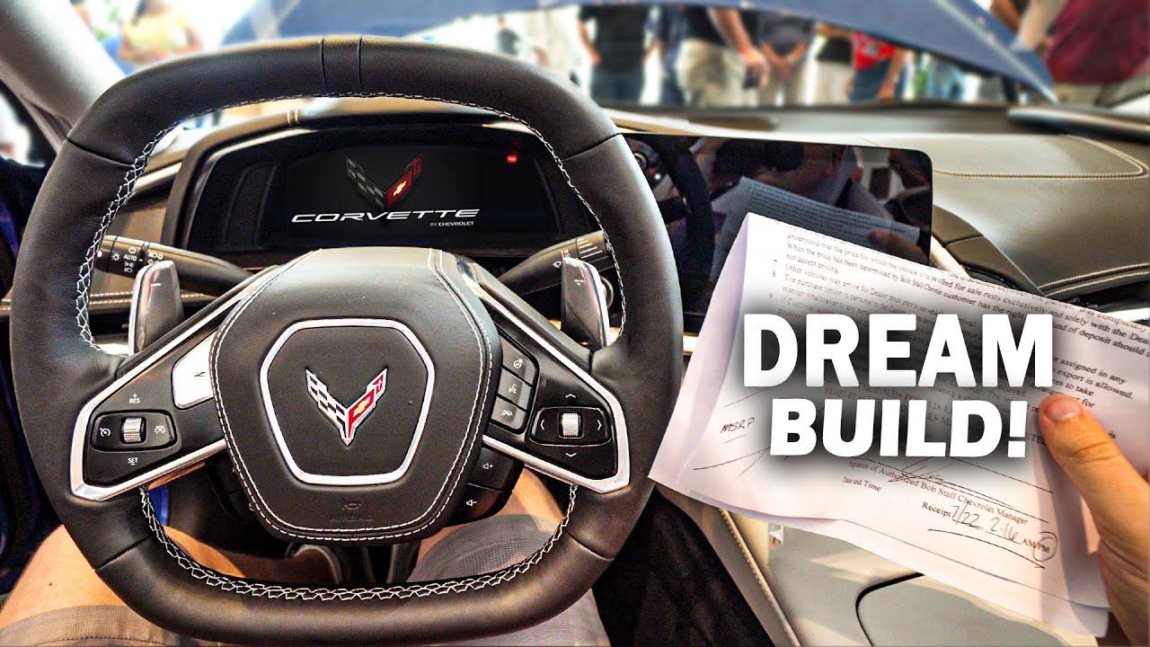 Revealing The Specs Of My New Mid Engine C8 Corvette 2020 Gt500