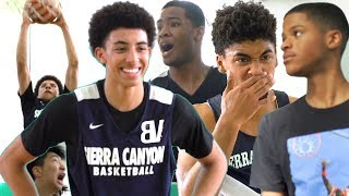 Sierra Canyon VS The Washington Generals! Scotty Pippen Jr Dropping DIMES With Shaqir Watching