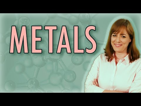 Chemistry: What is a metal? (Metallic Bonds)