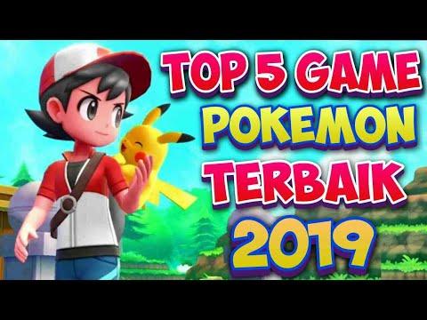 Top 5 Game Pokemon Terbaik | Size Ringan Untuk Android Offline & Online Grafik HD Edisi 2019 | NEW..
