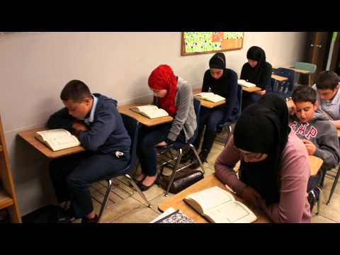 Al Hadi School Quran recitation for students born and raised in USA