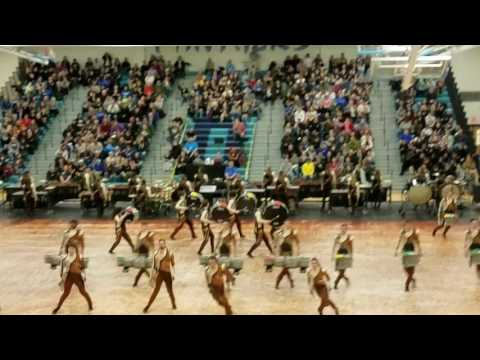 George Mason University Indoor Drumline 2017