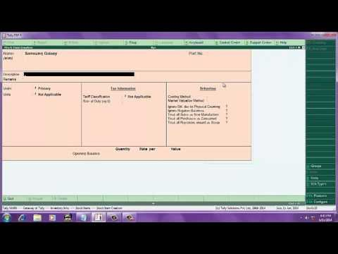 tally erp9 tutorial in 10 simple steps in english