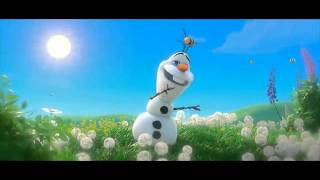 Снеговик Олаф и его песня про лето......