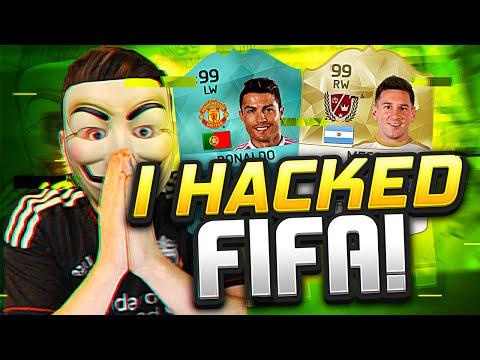 I HACKED FIFA 16!!!