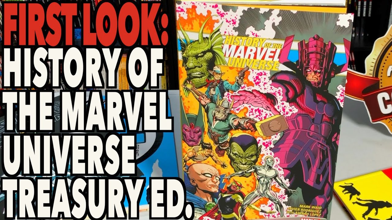 FIRST LOOK History of the Marvel Universe Treasury Edition