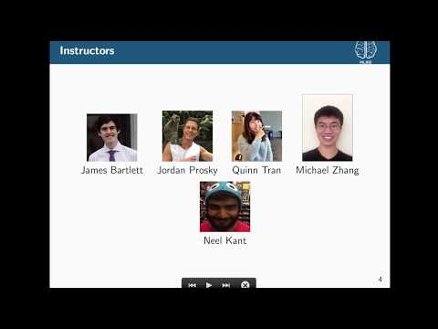Deep Learning Decal Fall 2017 Lecture 1: Introduction and Deep Learning Basics