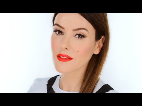 Modern Femme Fatale Makeup Look - with a fun tech twist!