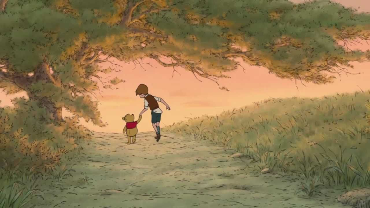 Winnie The Pooh Fall Wallpaper A Thotful Spot From Christopher Robin Youtube