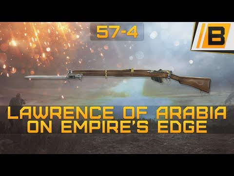 BF1: 54-7 Lawrence of Arabia on Empire's edge conquest + Killing the behemoth - Scout gameplay