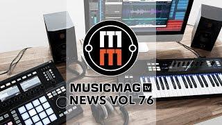 Musicmag TV News Выпуск 76:  Eurorack-секвенсор Knit Rider, Field Kit FX, новое от VTOL и др.