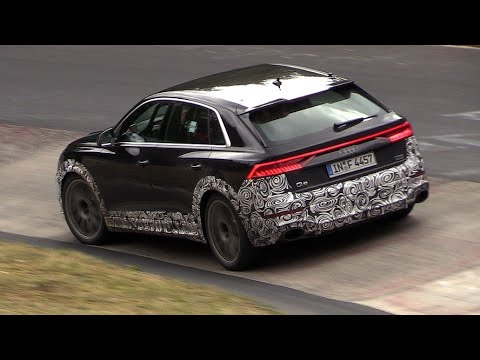 2019 Audi Rs Q8 Exhaust Sounds On The Nurburgring