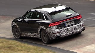 2019 Audi RS Q8 - Exhaust SOUNDS on the Nurburgring!