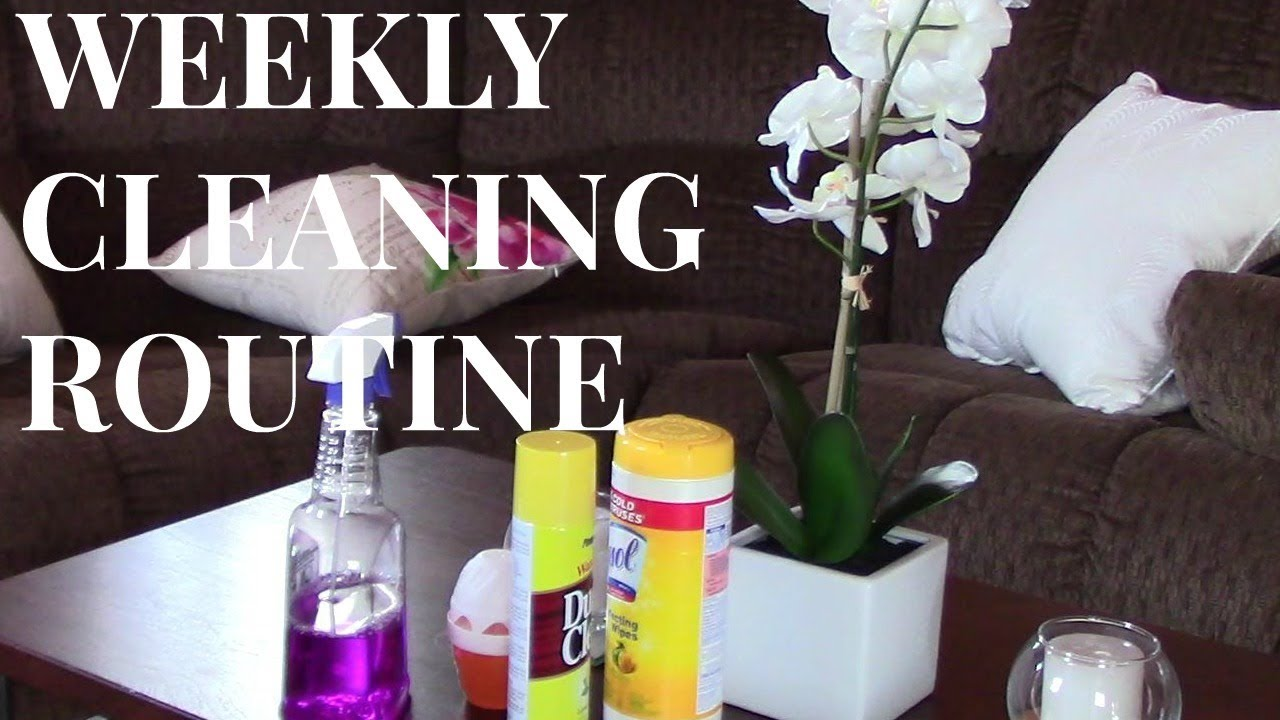 Cleaning Routine Kids Edition Stay At Home Mom