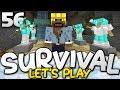 SO MANY ENCHANTMENTS!!! - Survival Let's Play Ep. 56 - Minecraft Bedrock (PE W10 XB1)