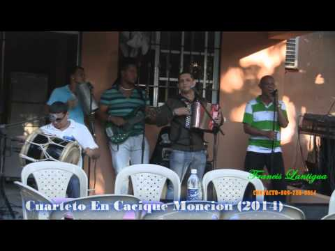 Francis Lantigua la muerte de mi padre Cuarteto En Cacique Moncion 2014 LOMEJORENTIPICO