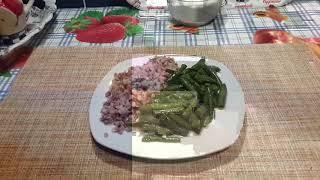 Зеленая фасоль с чесноком/постный рецепт