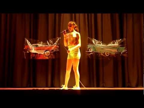 Winton Middle School Talent Show 2013 - Ruby Mayes Rios & Dancers - Want U Back - 07