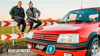 De aller eerste auto van DJ LA FUENTE! Peugeot 205 CTI // DAY1 Daily Driver MINI SERIE #3
