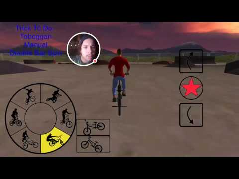 PLAYING A GAME OF SKATE! BMX FE3D!