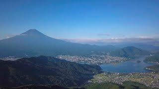 [ 4K Ultra HD ] 絶景空撮:夏の富士山 Mt.FUJI in Summer : AERIAL DRONE FOOTAGE