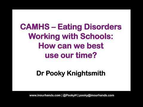 CAMHS eating disorders - working with schools