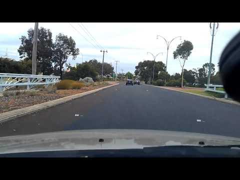 Driving around Joondalup