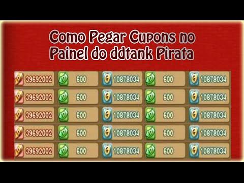 Como pegar cupons pelo painel - DDTANK Pirata 22/07/2015