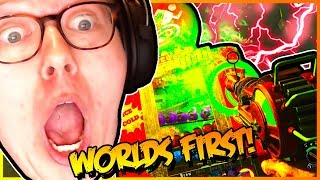 WORLD'S FIRST CLASSIFIED EASTER EGG SOLO on BLACK OPS 4 ZOMBIES (Hell's Redeemer First TOO)