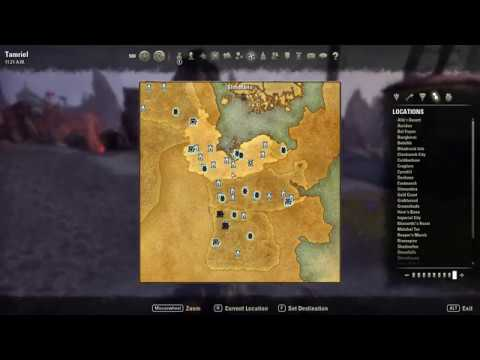 The Elder Scrolls Online | Stonefalls Treasure Map 1 LOCATION! (HD)