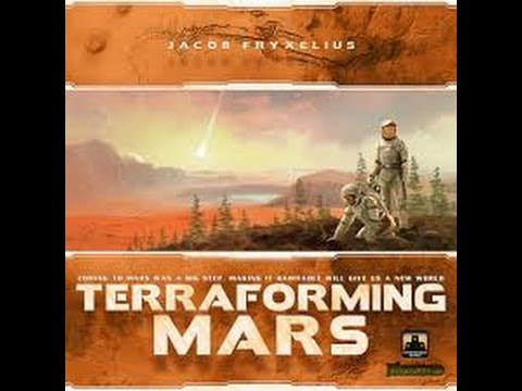 Terraforming Mars: Thoughts After 10 Plays