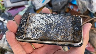 RESTORE OLD IPHONE 3GS Found From The Rubbish   Restoration Destroyed Abandoned Phone