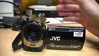 JVC Everio GZ-MG670 1080p upscaling camcorder review & test