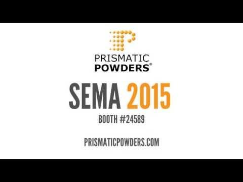 SEMA 2015 Prismatic Powders Booth 24589