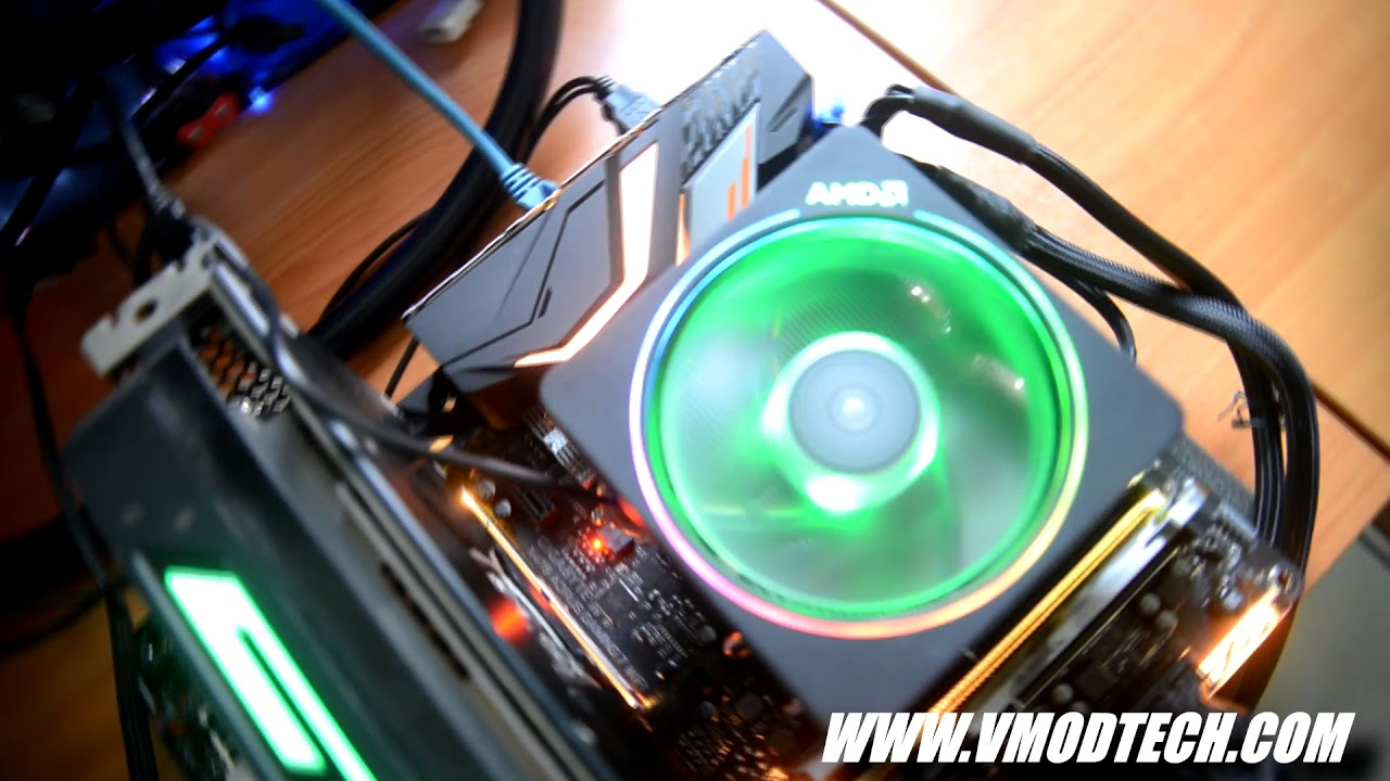 AMD Wraith Prism with RGB LED