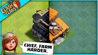 THE GREATEST DOUBLE TOWNHALL IN Clash of Clans