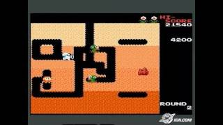 Dig Dug (Famicom Mini Series) Game Boy Gameplay