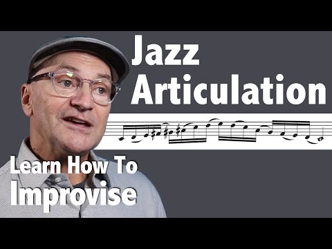 Jazz Trumpet Articulation (It's Not Just For Brass Players...)
