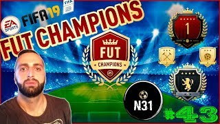 FIFA 19 FUT CHAMPIONS weekend league #43 FIFA ultimate team LIVE STREAM PS4
