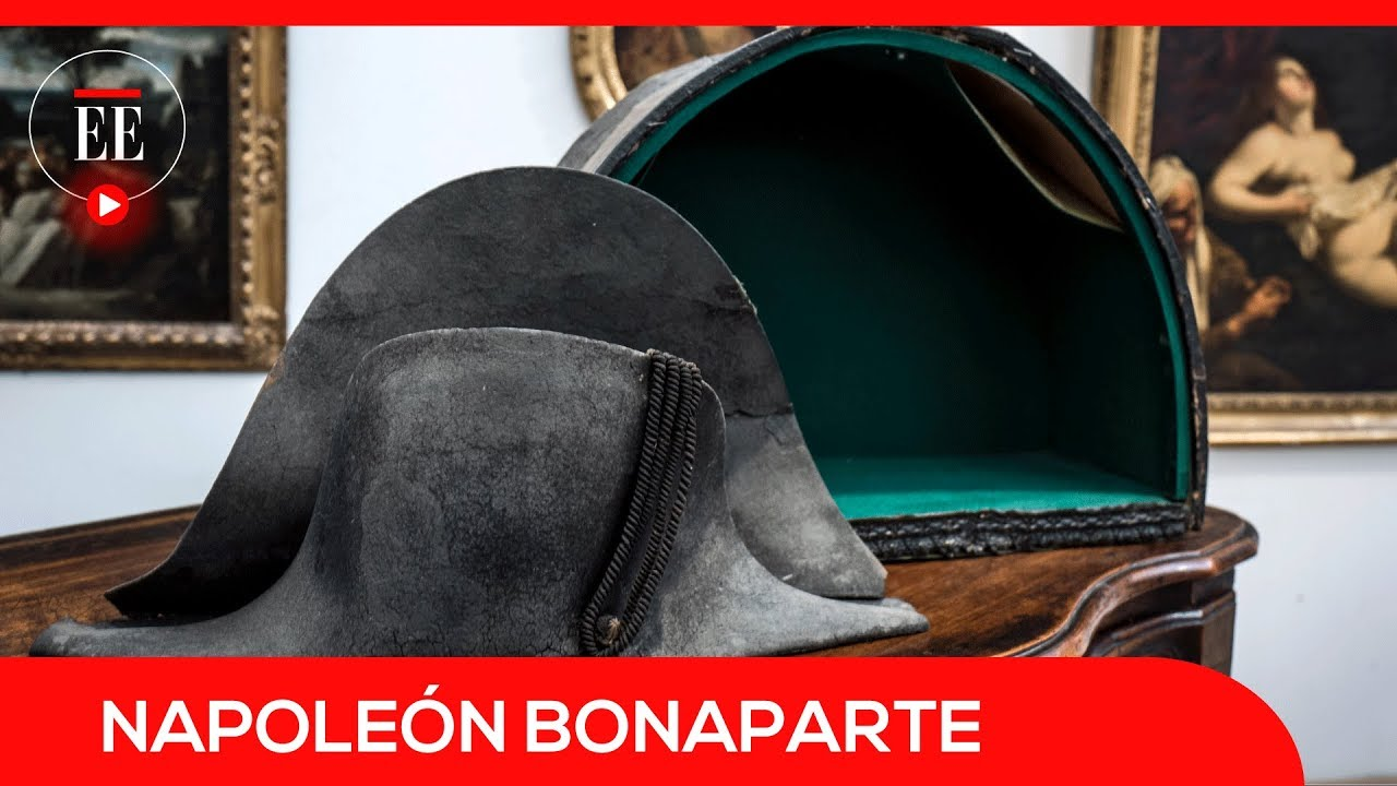 Sombrero de Napoleón fue subastado por 350.000 euros en Francia  288fc36e5f83