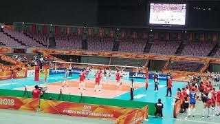 Mondiali Femminili 2018: l'ultimo punto di Italia vs Russia