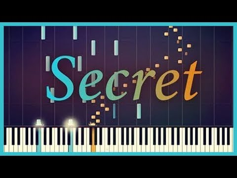Time Travel Theme - Secret [Piano Tutorial] (Synthesia) // Classical x Pop