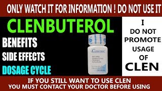 What Is Clenbuterol In Hindi | Benefits, Side effects and dosage of Clen - Best fat Burner